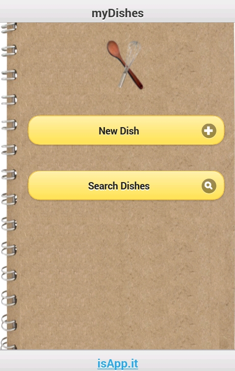 myDishes | Ricette App Android | isApp it